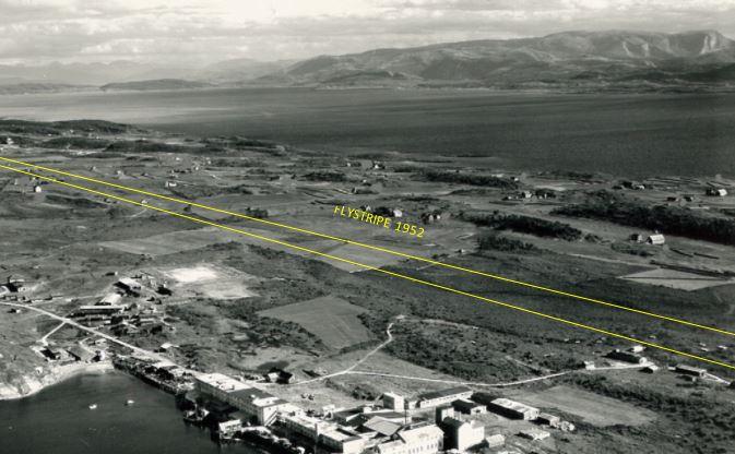 Flystripe i 1952