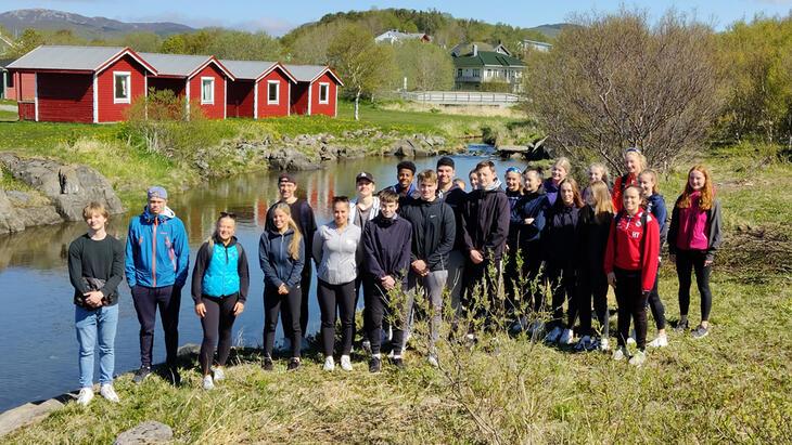 Elever ved klasse 1D Bodø videregående skole